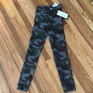 Zara Hi-rise Camo Pants